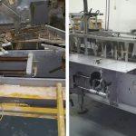 Antes y después del Vapor Saturado Seco