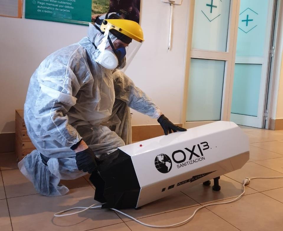 DESINFECCIÓN PARA COVID-19 CON OZONO